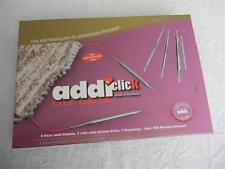 addi click Lace Long Tips 8 Paar Nadelspitzen 3.5 - 8.0 mm im Set 760-7