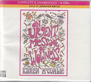 Karen-McCombie-An-Urgent-Message-Of-Wowness-6CD-Audio-Book-Unabridged-FASTPOST