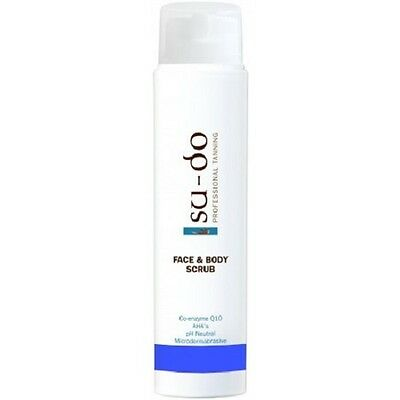 Sudo Professional Tanning Face and Body Scrub 200 ml. SU-DO