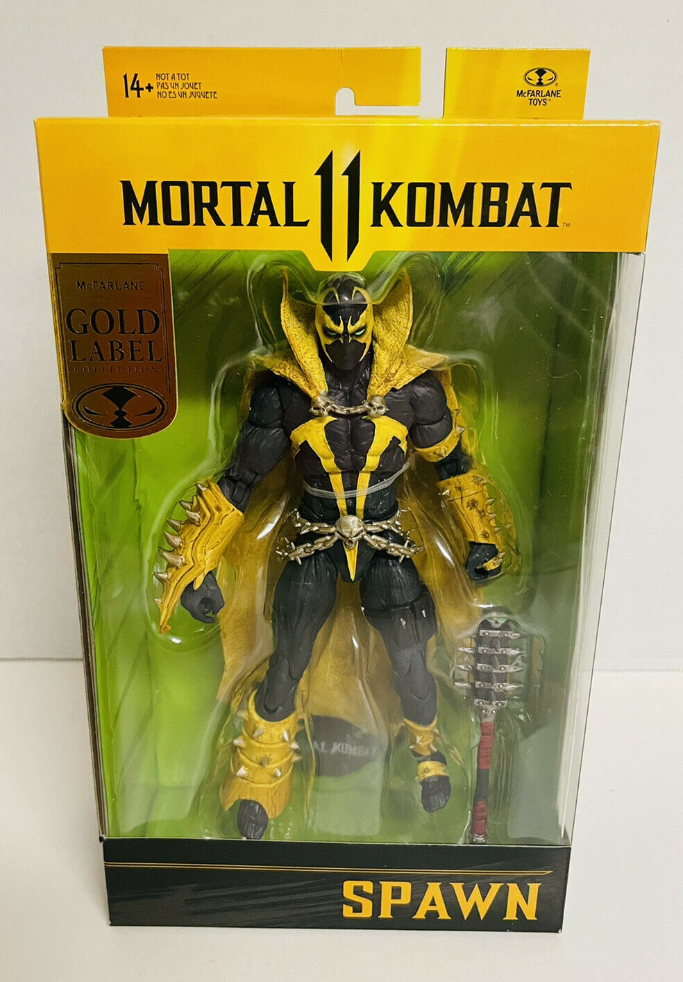 McFarlane Toys Spawn Mortal Kombat 11 Curse of Apocalypse Gold Label on eBay thumbnail