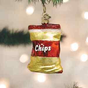 Bag-of-Potato-Chips-CHRISTMAS-ORNAMENT-White-Elephant-Gag-Gift-Stocking-Stuffer