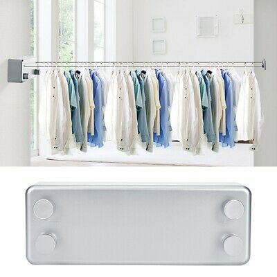 4M Retractable Laundry Washing Clothesline Home Wall-Mount Dual Clothes Line