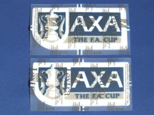 Lextra Sporting ID AXA FA Cup Final Player Issue Armpatches Seasons 19982002