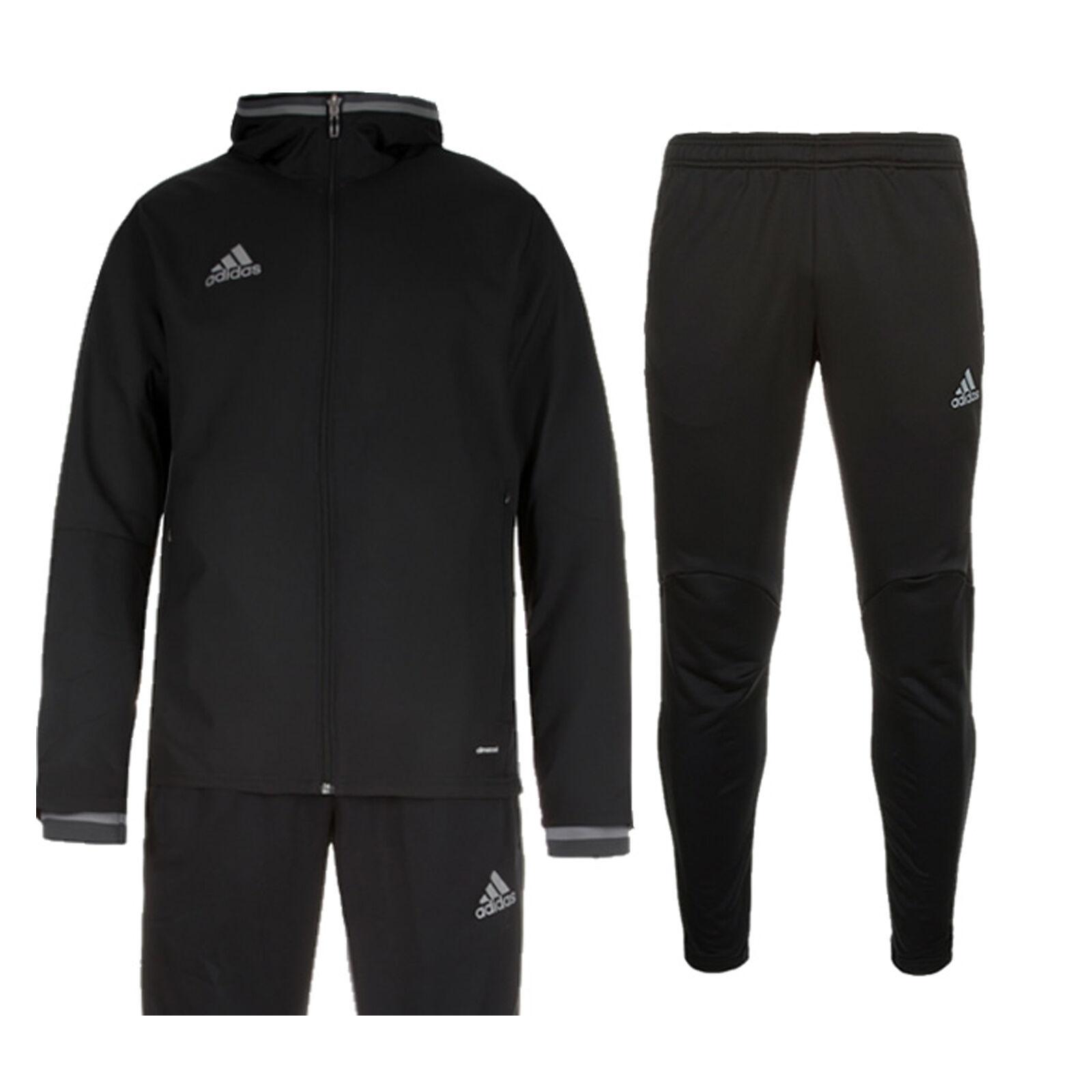 5074842e515 Adidas Condivo 16 Tracksuit Presentation Suit Kids 3 Stripe New | eBay