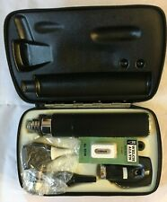 New Listingwelch Allyn Diagnostic Set 71030 25000 11600 Otoscope Opthalmoscope In Case Box