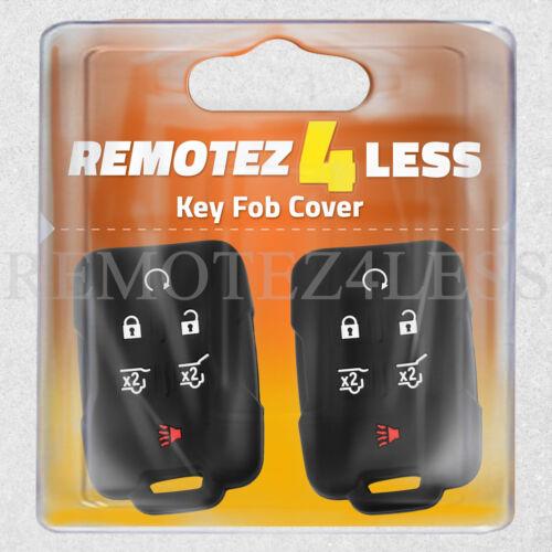 2 Key Fob Cover for 2015 2016 2017 2018 2019 Chevrolet Colorado Remote Case Skin