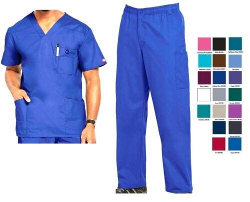 Dickies Mens Scrubs EDS Signature Sets Top 81906 Pants 81006 All Colors
