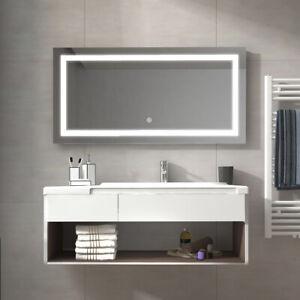 Lichtspiegel Badspiegel Mit Led Badezimmer Spiegel Mit Beleuchtung
