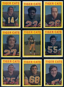 1972-OPC-CFL-Football-Complete-NM-Full-132-Card-Set-Joe-Theismann-Ron-Lancaster