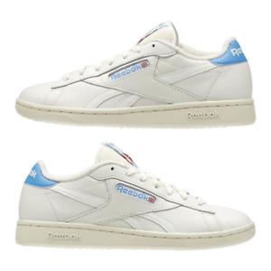 be5661baa2e New Womens Reebok NPC UK Vintage V69407 CHALK WHITE   BLUE US 5.5 ...