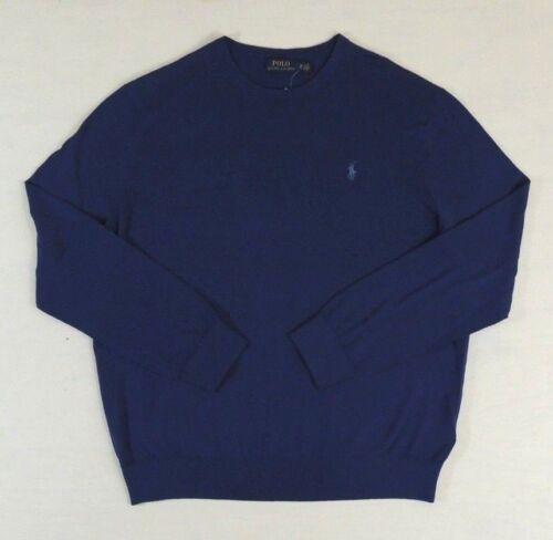 Polo Ralph Lauren Cashmere Cotton Crewneck Pony Classic Sweater Jumper Big Tall