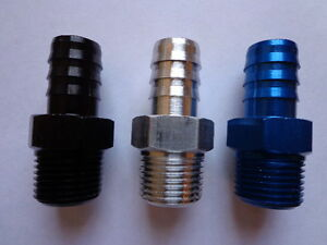 BLUE-Fitting-For-Fuel-Line-3-8-NPT-to-3-8-barb