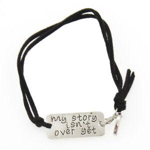My-Story-Isn-039-t-Over-Yet-Letter-Carve-Tag-Bracelet-Bangle-Mental-Health-Awareness