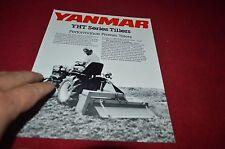Yanmar YHT Series Tillers Dealer's Brochure DCPA6 ver2