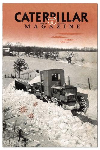 Caterpillar Vintage Magazine No 83 1940s No12 Grader