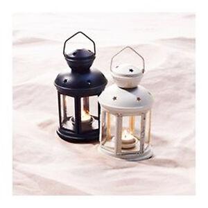 1x-Black-1x-white-tealight-candle-hanging-lantern-party-wedding-ball-decoration