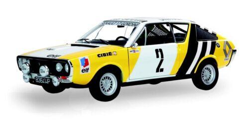 Solido 1:18 S1803702 1976 Renault R17 Rallye de Pologne #2 NEU!