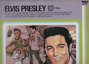 ELVIS-PRESLEY-disco-LP-33-giri-IN-THE-50S-1956-Made-in-ITALY-LINEATRE