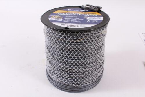 """Husqvarna 639005109 Commercial Grade Titanium Force .095/"""" 5lb Trimmer Line Spool"""