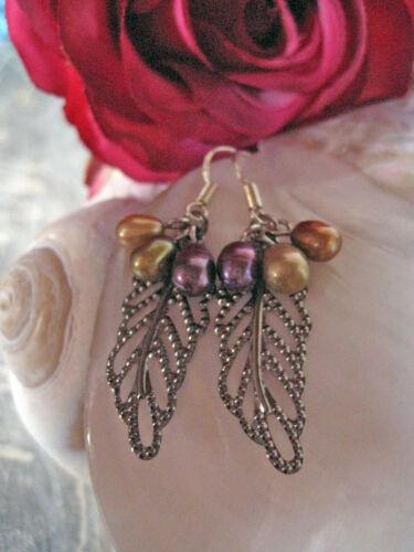 Echte Süßwasserperlen Perlenschmuck Ohrringe 925 Silber Perlen Zuchtperlen