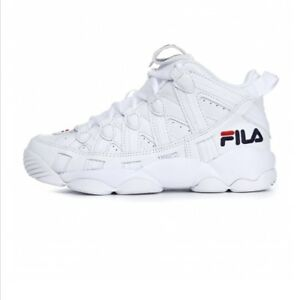Details about FILA SPAGHETTI 95 Men's Basketball Sneakers Shoes -  White(FS1HTA1012X)