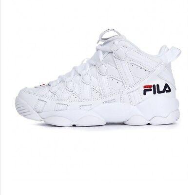 FILA SPAGHETTI 95 Men's Basketball Sneakers Shoes - White(FS1HTA1012X) |  eBay