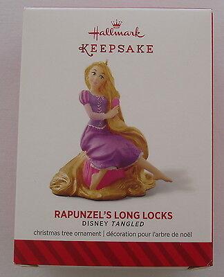 Hallmark 2014 Disney Princess Tangeled Rapunzel's Long Locks Christmas Ornament