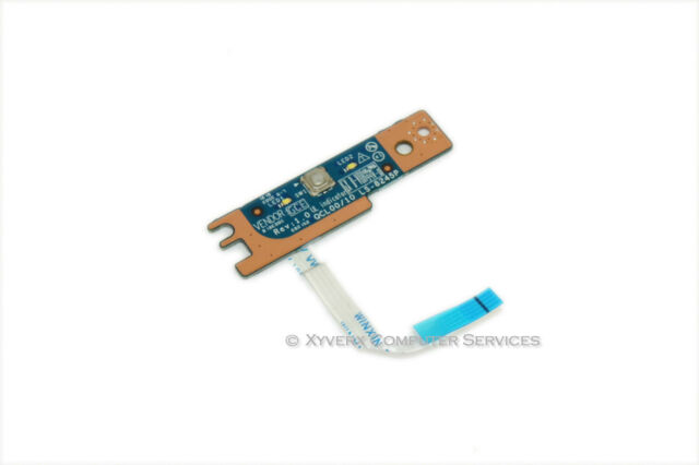 Power Button Board with Cable A12402 7520 // 5520 Dell Inspiron 15R A12402 Certified Refurbished