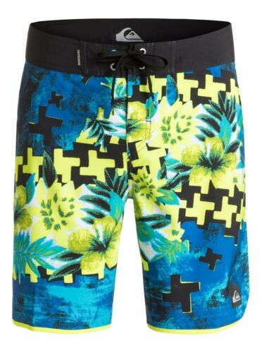 "Quiksilver Holiday Paste 19/"" Boardshorts Swimwear Sz 32"