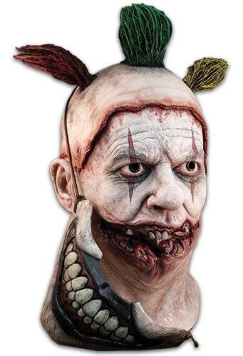 Trick or Treat Horror Story Twisty The Clown Halloween Costume Mask RLFOX100