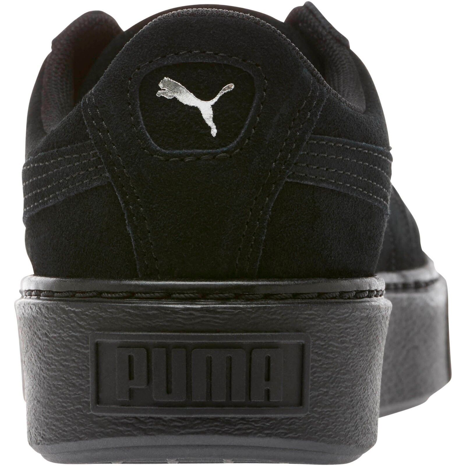Puma Donna  SUEDE SUEDE SUEDE PLATFORM CRUSHED GEM scarpe nero 365866-01 b 11afbb