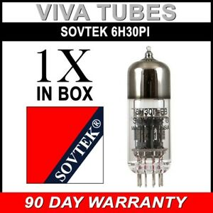 2 Sovtek 6H30Pi Vacuum Tubes Brand New Factory Matched Pair