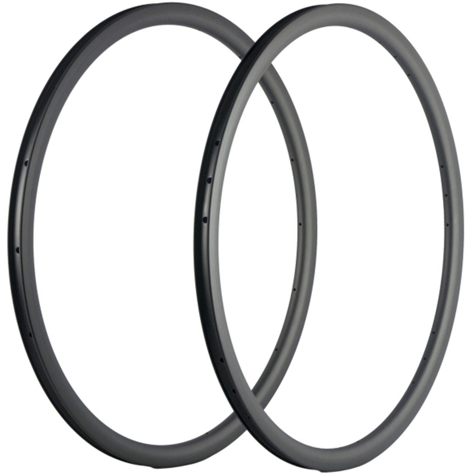 30mm Depth Bicycle Carbon Rims 25mm U Shape Road Bike Cycle Rims 18 20 21 24 UD
