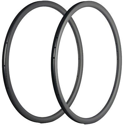 50mm Depth Bicycle Carbon Rims 25mm Tubeless Carbon Bike Rims 18//21//20//24 Holes