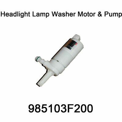 New Genuine Oem Headlight Lamp Washer Motor Pump 98510 3F200 For Hyundai Kia