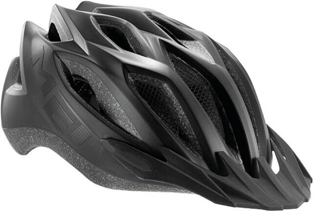 MET Fahrrad Helm Crotver LED Schwarz matt 52-59  59,99 59,99 59,99 EUR für Stevens KTM 4b2449