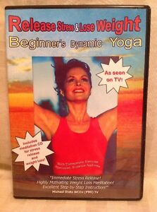release stress  lose weight beginner's dynamic yoga dvd