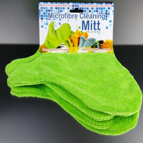 Handschuh Mikrofasertuch  Politur Haushalt Möbel  2 Stück