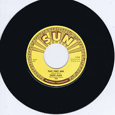 TOMMY BLAKE - FLAT FOOT SAM / LORDY HOODY (Killer SUN label ROCKABILLY Twinspin