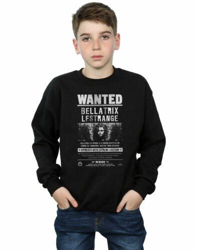 Harry Potter Jungen Bellatrix Lestrange Wanted Sweatshirt