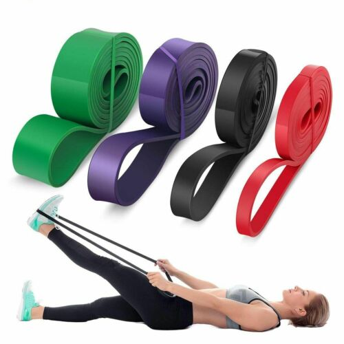 Pull Up Resistance Band Rubber Heavy Duty Elastic Band Fitness Training Exercise