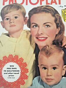 Vintage-Collectible-Photoplay-Movie-Magazine-Jean-Crain-Cover-May-1950
