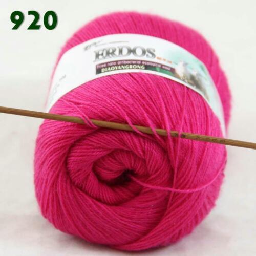 Venta 1 madeja x50gr Acrílico Crochet con Encaje Suave Lana de Cachemira Mano hilo de ganchillo 20