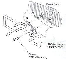 Ge Cable Management Bracket For Dash 2000 3000 4000 5000 Patient Monitor Parts