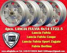 4 Cerchi Cromodora Lancia Fulvia Flavia 6x14 Wheels Felgen Llantas jantes TUV