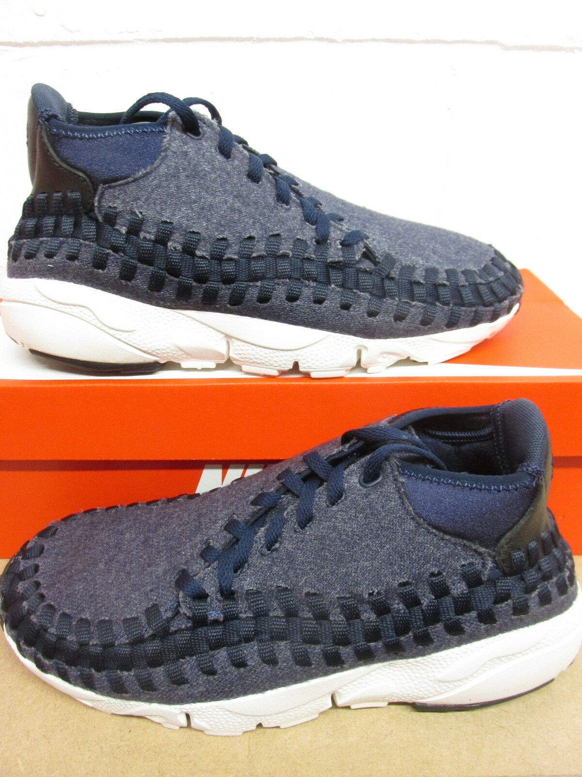 Nike Air Footscape Woven Chukka SE homme Trainers 857874 400 Sneakers chaussures