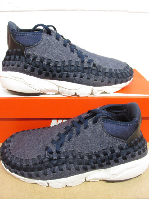 new product a8c4b 4bafa Nike Air Footscape Woven Chukka SE Mens Trainers 857874 400 Sneakers Shoes