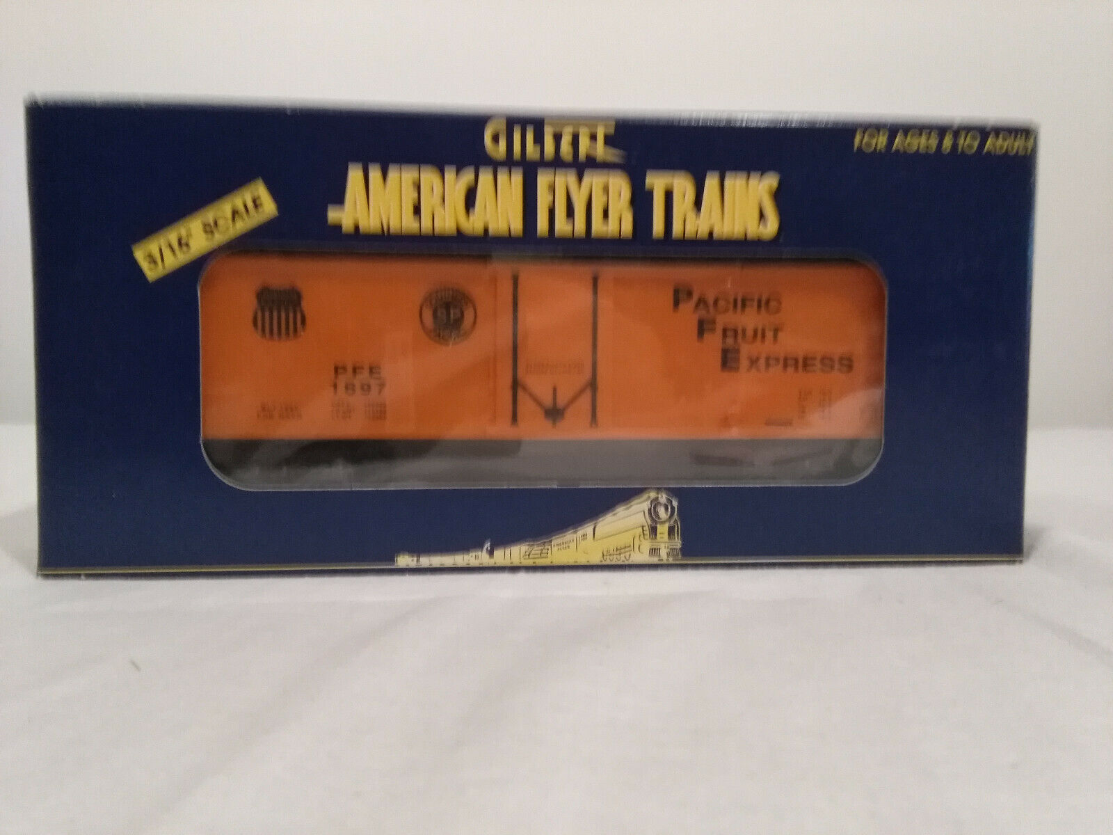American Flyer 6-48205 Pacific Fruit Express Reefer
