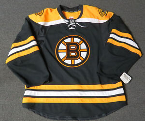 5fda0aee4 New Boston Bruins Authentic Team Issued Reebok Edge 2.0 Blank Hockey ...
