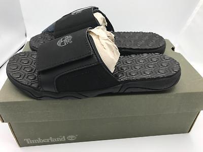 Timberland Junior Adventure Seeker Slide Sandal 1290A Black 1796-1797 Size 4